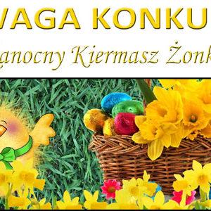 """KONKURS """"Wielkanocny Kiermasz Żonkilowy"""""""